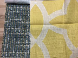 fabric patterns with yellow linen 300x225