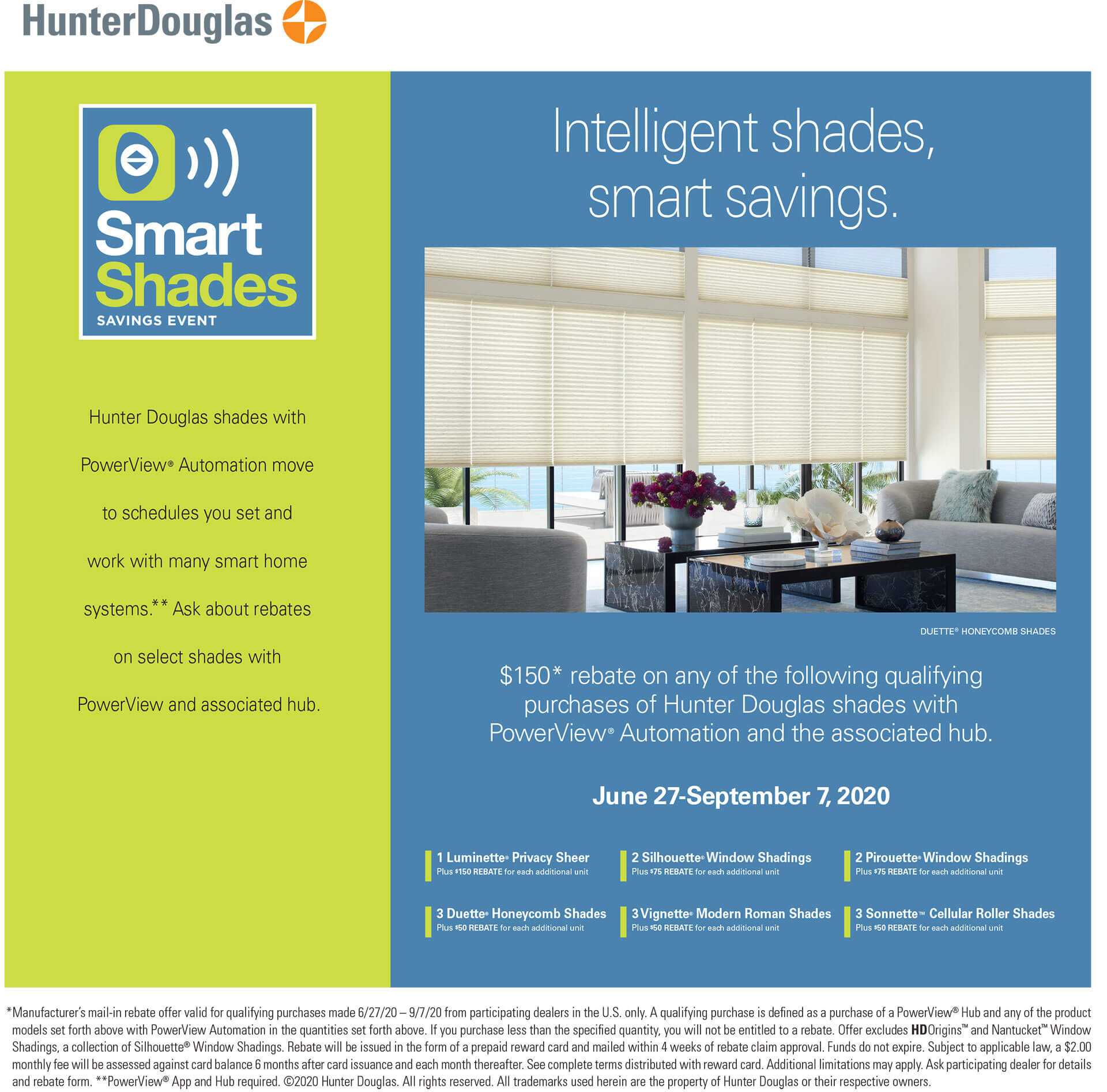 smart shades event HD